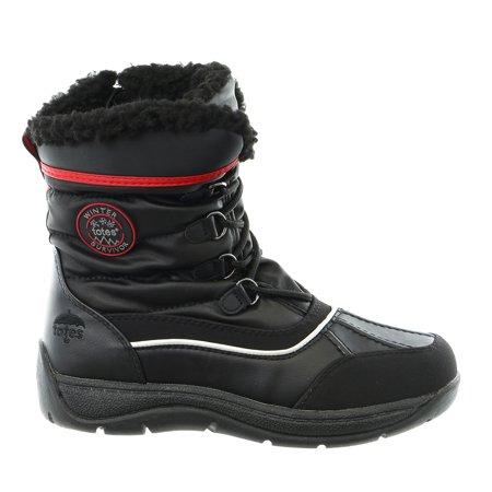Totes Lauren Waterproof Winter Snow Boot   Womens