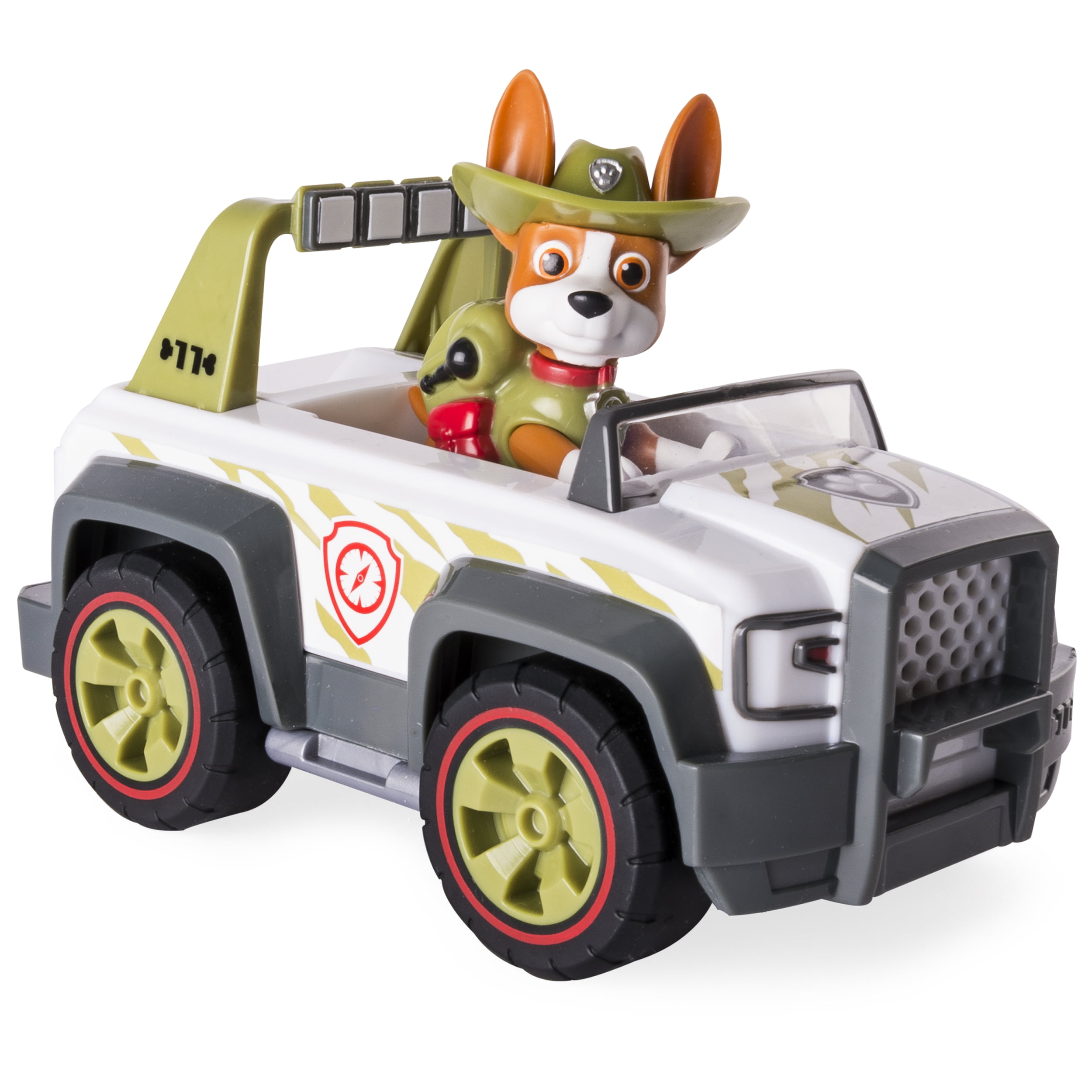 PAW PATROL 6059511 Tracker's Jungle Cruiser Vehicle with Collectible Figure
