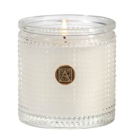 SMELL OF SPRING Aromatique Textured Glass Scented Jar Candle
