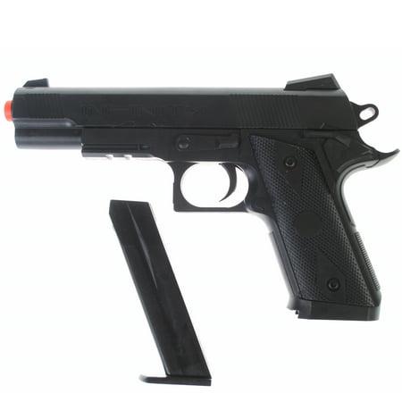 DARK OPS AIRSOFT P338 AIRSOFT HAND GUN FULL SIZE SPRING PISTOL W/ 6MM