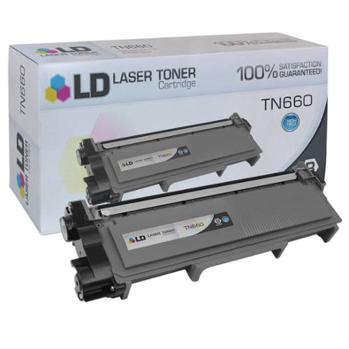 LD Compatible Replacement for Brother TN660 HY Black Toner Cartridge for Brother DCP L2520DW, L2540DW, HL L2300D, L2320D, L2340DW, L2360DW, L2380DW, MFC L2700DW, L2705DW, L2720DW, & L2740DW