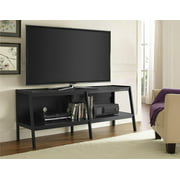 Ameriwood Home Black Ladder TV Stand for TVs up to 65""