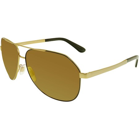 Dolce & Gabbana Women's Mirrored DG2144-1295F9-61 Gold Aviator (Dolce And Gabbana Glasses Womens)