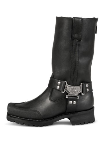 Milwaukee Motorcycle Clothing Company Men's Drag Harness Motorcycle Boots (Size 11D)
