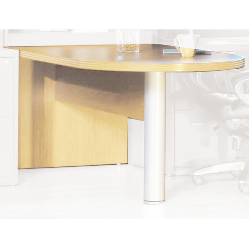 Mayline Group Aberdeen 29.5'' H x 72'' W Desk Peninsula