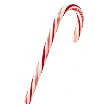 Laminated Poster Red Candy Cane Candy Peppermint Sweet Christmas Poster Print 11 X 17