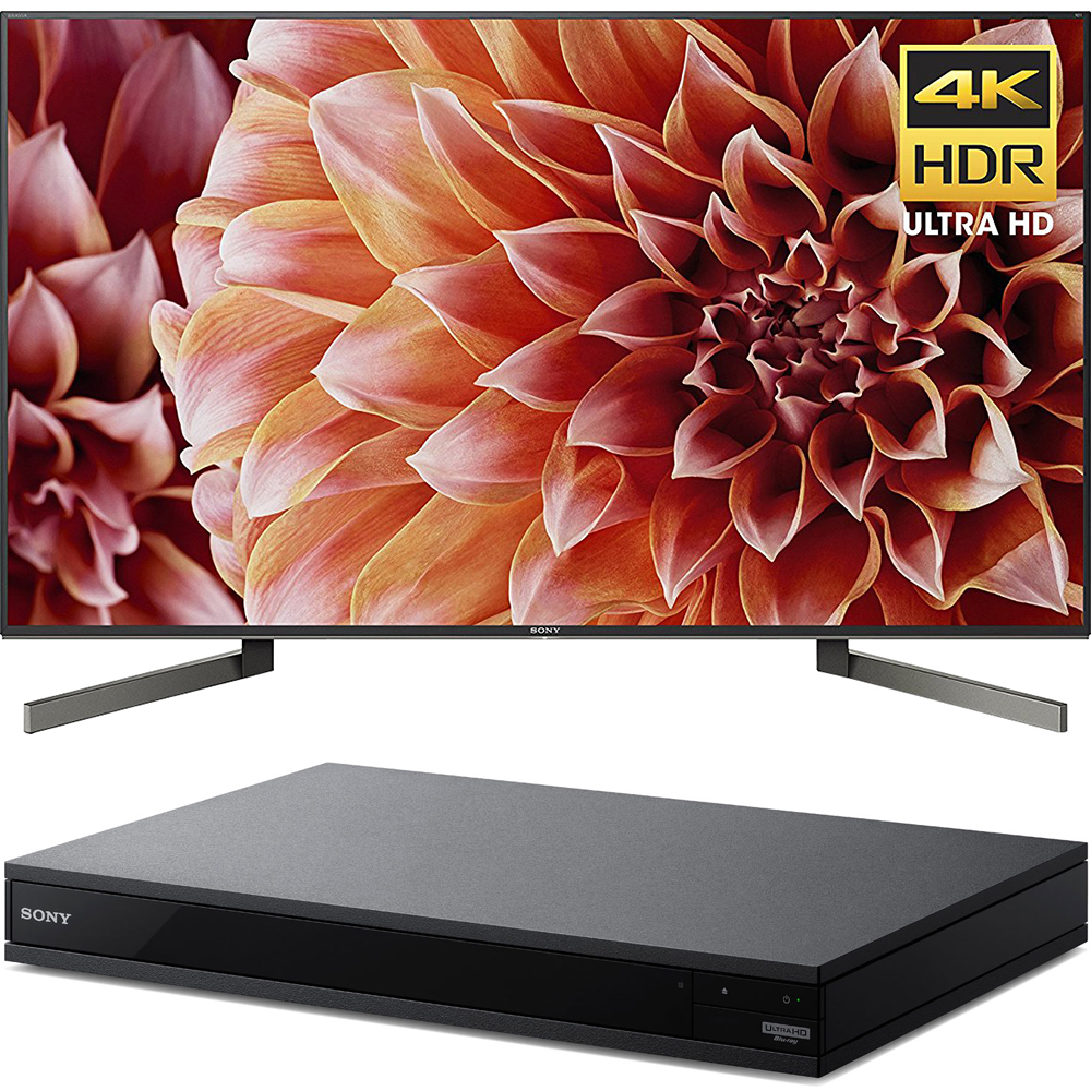 "Sony 75"" Class 4K Ultra HD (2160P) HDR Android Smart LED TV (XBR75X900F) with Sony 4K Ultra HD Smart Blu-Ray Player"