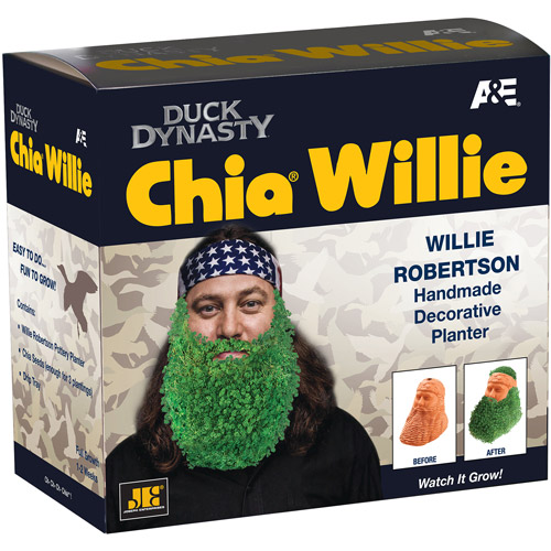 As Seen On TV Chia Pet Willie Robertson