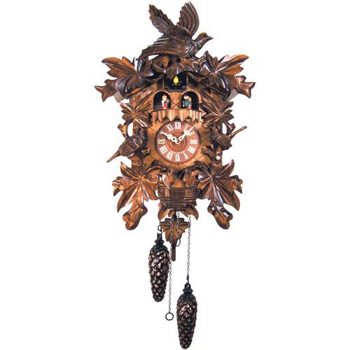 Dancing People Cuckoo Clock by Alexander Taron