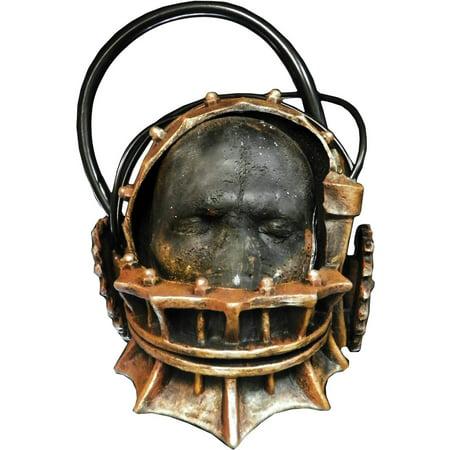 Saw Reverse Bear Trap Mask Adult Halloween Accessory - Bear Mask