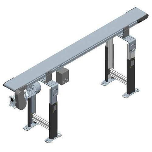 DORNER 2200 Belt Conveyor, 6 ft. L, 12 In. W, 80 lb.