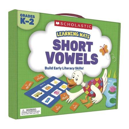 Learning Mats: Short Vowels (Short Vowels Mats)