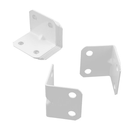Unique Bargains Hardware Furniture Reinforce Corner Support Plate Right Angle Bracket (Reinforcing Angle)