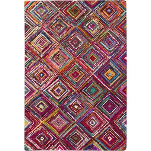 Art of Knot Reach Hand Hooked Cotton and PolyesterAccent Rug
