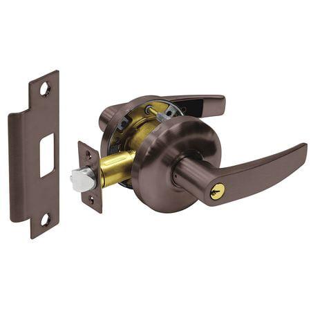 SARGENT 28-65G04 KB 10B Door Lever Lockset,Curved,Storeroom