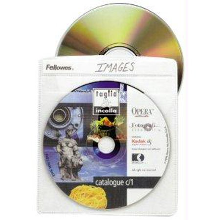Fellowes, Inc. Fellowes Cd Sleeves Offer Disc Storage Y - Fellowes Cd Storage