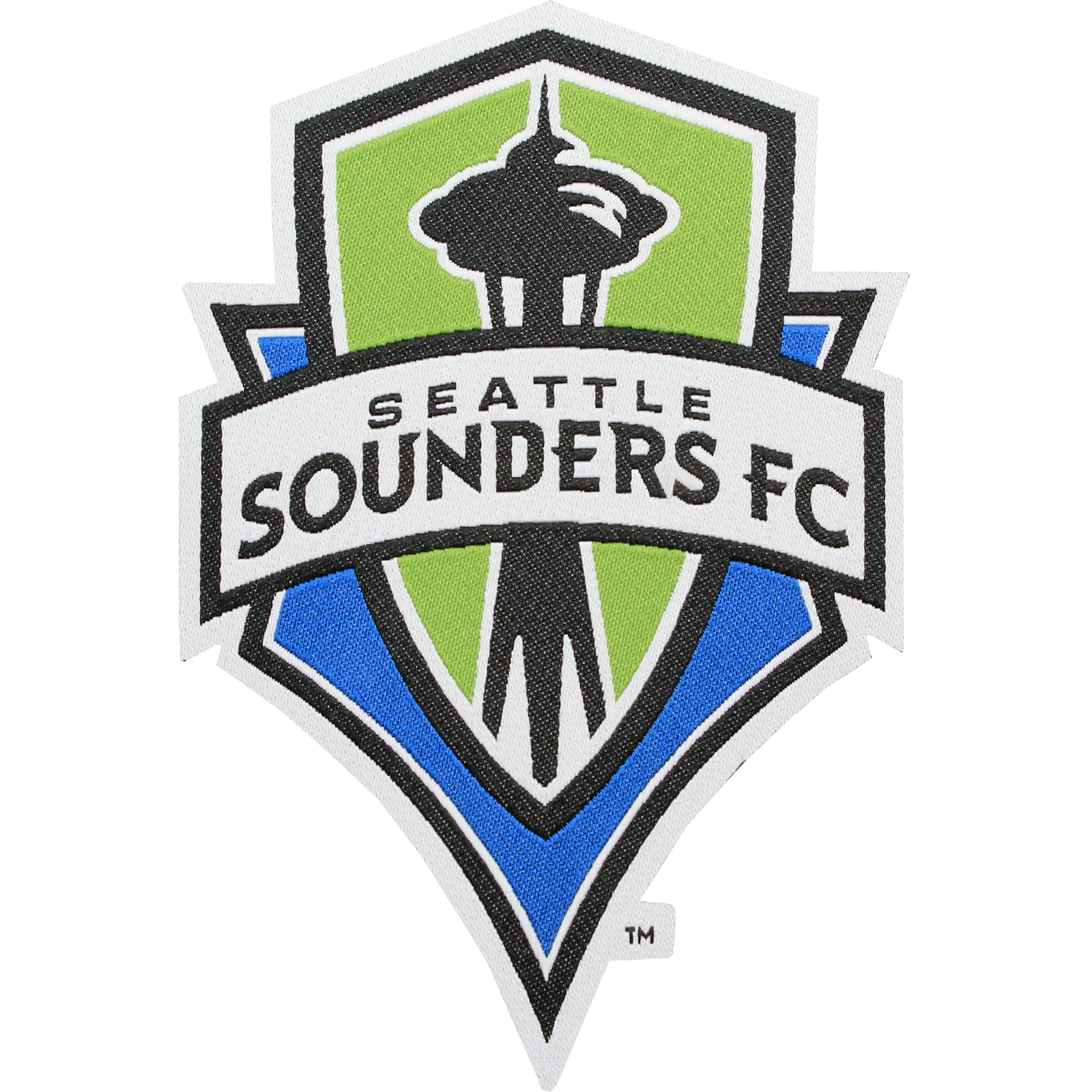 Seatle Sounders FC Primary Team Crest Pro-Weave Jersey Patch