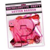 Hott Products Bachelorette Party Letter Banner, 1 Ct