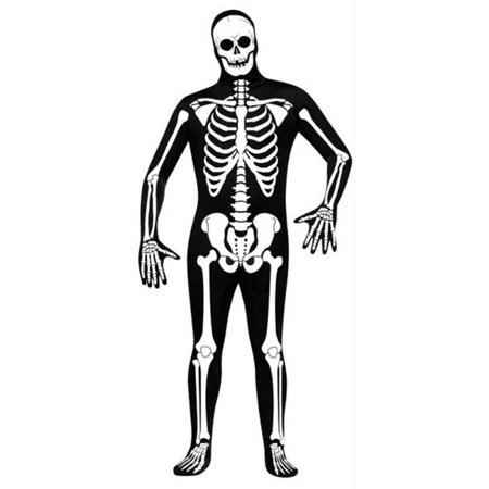 Skeleton Skin Suit (Skin Suit Skeleton Adult Std)