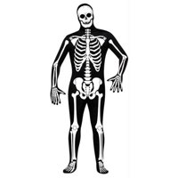 Skin Suit Skeleton Adult Std