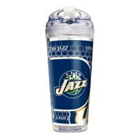 Utah Jazz 24oz. Acrylic Travel Tumbler - No Size