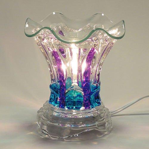 ELECTRIC TART BURNER OIL WAX MELTS WARMER AROMA LAMP DIMM...