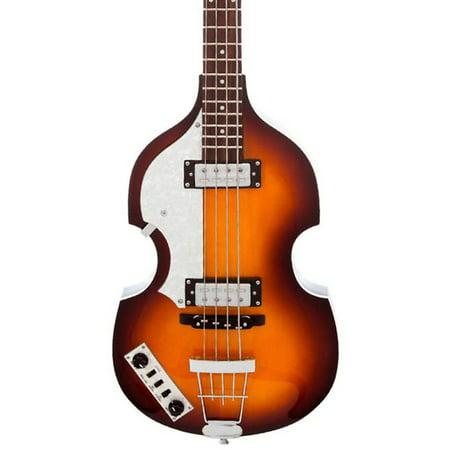 Hofner HI-BB-L-SB - Ignition Violin Bass - Sunburst - Left