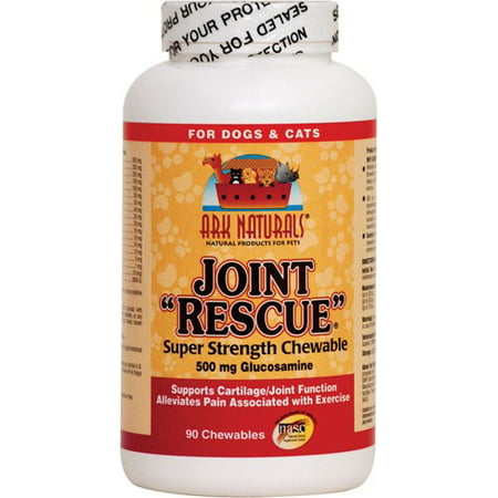 - Ark Naturals Joint Rescue Super Strength (500 mg) for Dogs & Cats, 90-Chewable Tablets