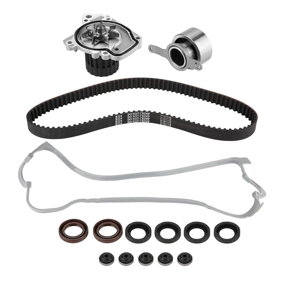 Timing Belt Kit Water Pump Valve Cover Repalcement for 1996-2000 Honda Civic Del Sol 1.6L SOHC