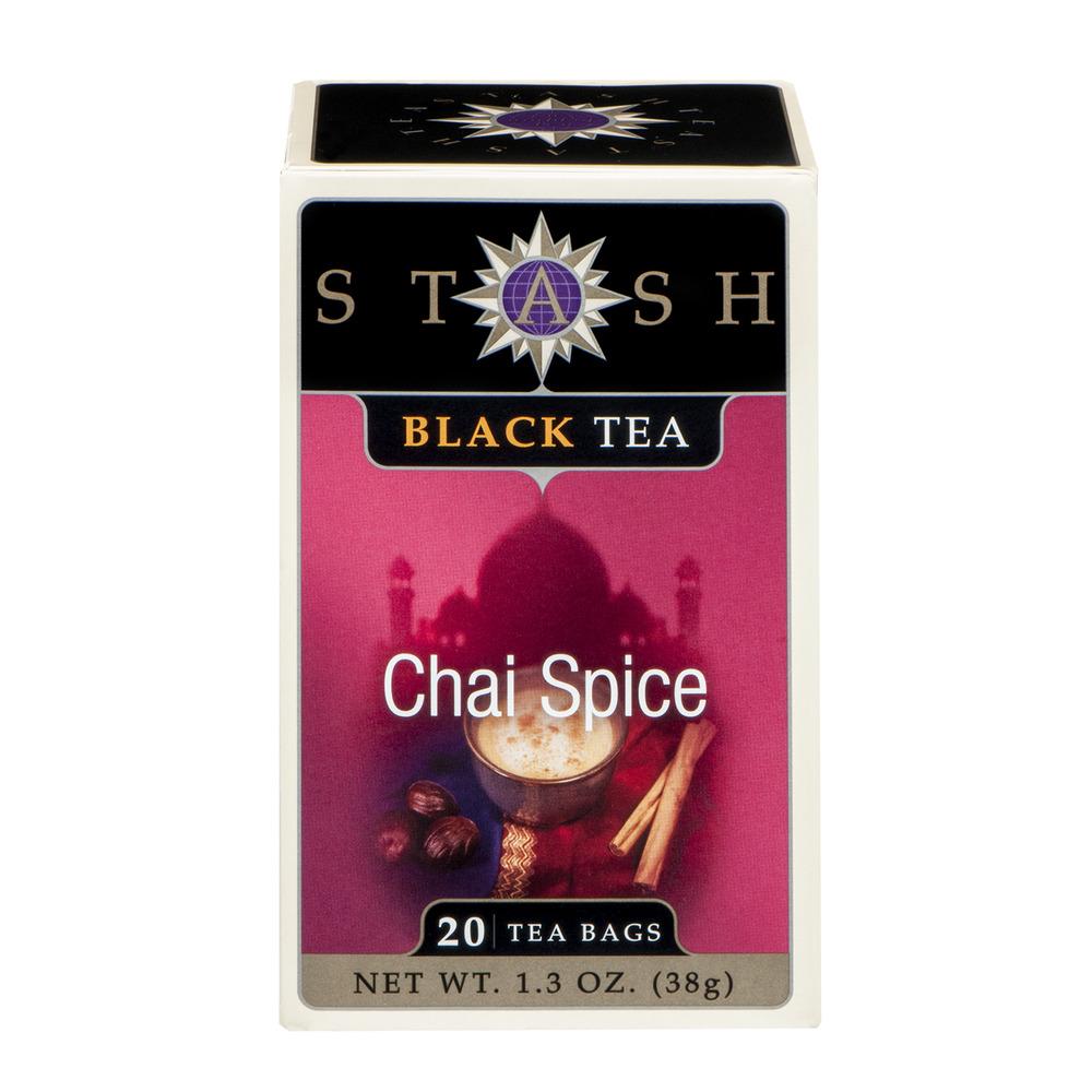 Stash black tea chai spice