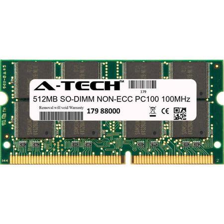 512MB Module PC100 100MHz NON-ECC SD SO-DIMM Laptop 144-pin Memory Ram 512mb Ecc Module Server