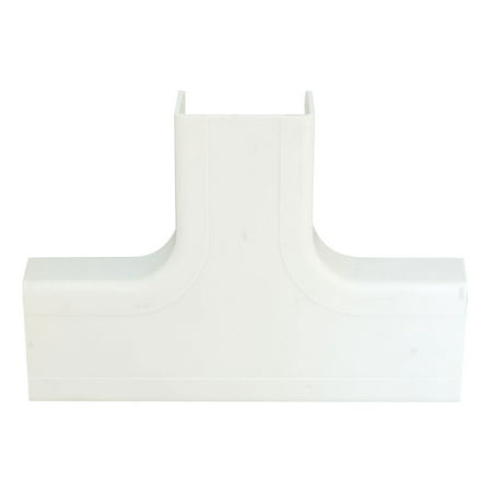 Offex 1.25 inch Surface Mount Cable Raceway, White, (Surface Top)