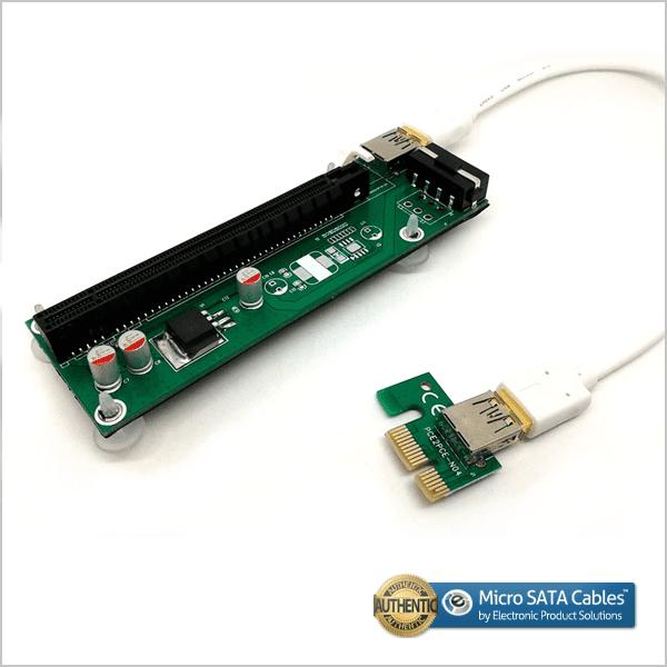 PCIe Express 1X to 16X Riser Extender Card