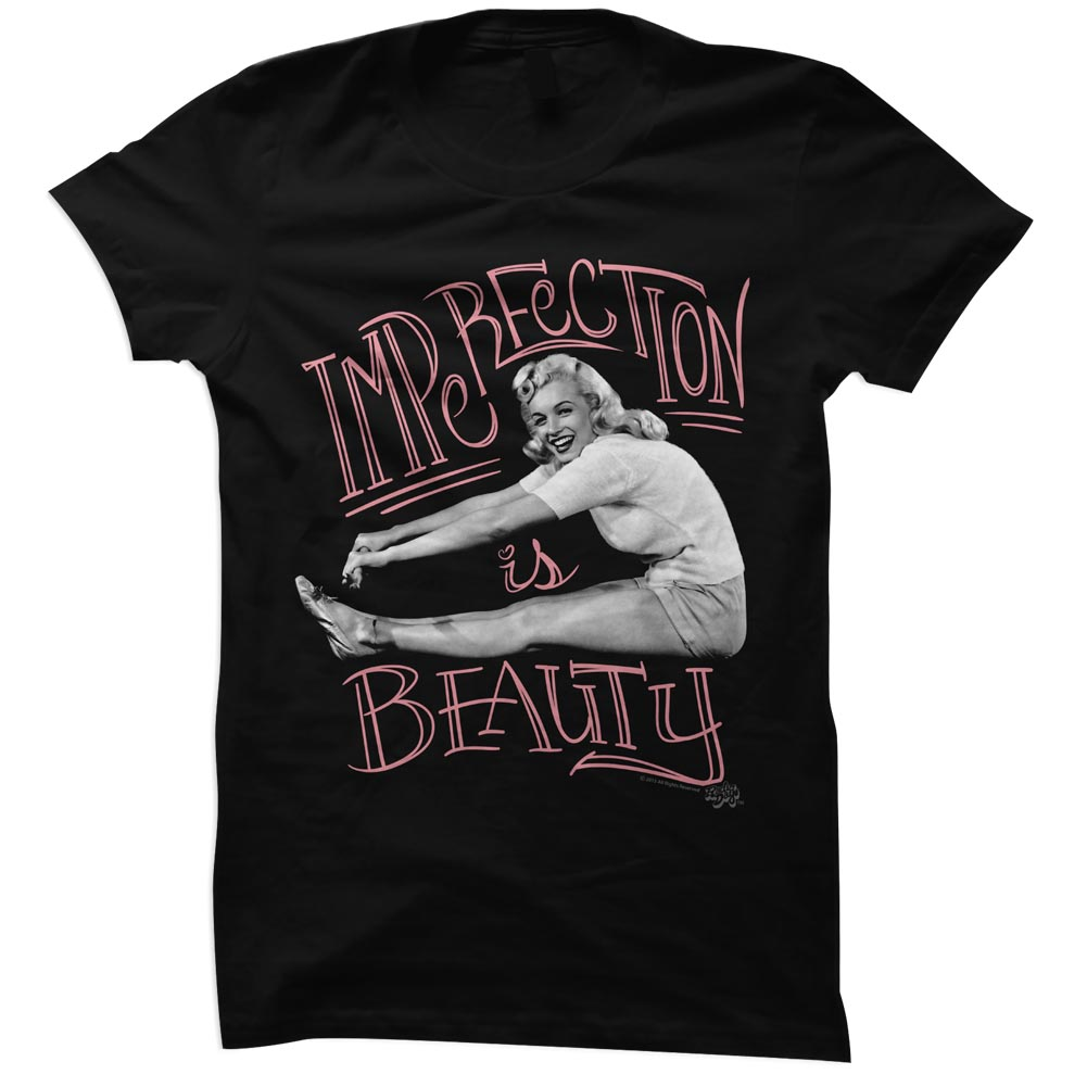 American Classics Marilyn Monroe Imperfect Beauty T Shirt