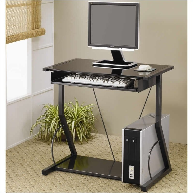 Coaster Company Small Space Computer Desk, Black - Walmart.com