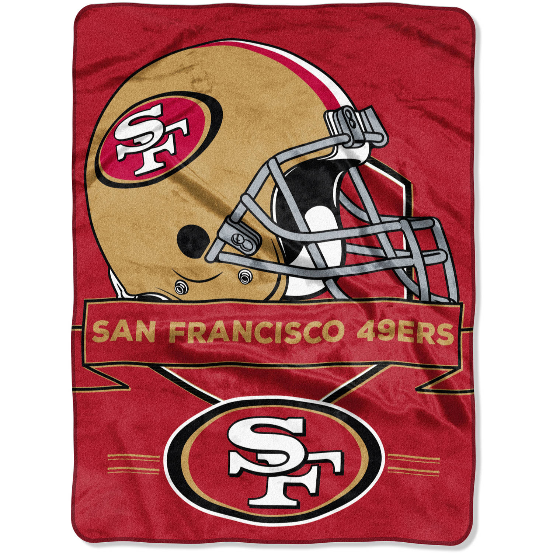 "NFL San Francisco 49ers ""Prestige"" 60"" x 80"" Raschel Throw"