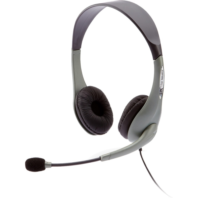 Cyber Acoustics AC-851B USB Stereo Headset - Over-the-head