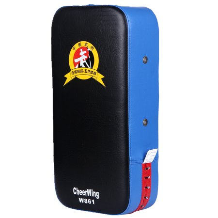 Cheerwing PU Leather Punching Kick Target Pad Arm Shield Focus Training Target for Karate Muay Thai Kick Boxing UFC MMA Sanda (Kick Pads)