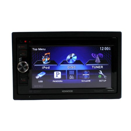 Kenwood Ddx 271 6 1 In Dash 2 Din Touchscreen Cd Dvd Mp3 Car Stereo