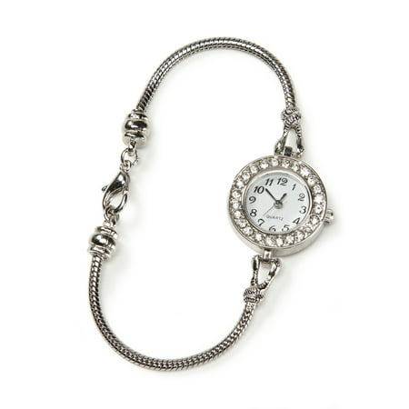 Ready To Bead Watch and Bracelet: Silver