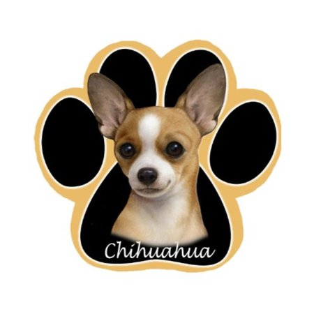 chihuahua dog paw non-slip mousepad Dog Round Mouse Pad