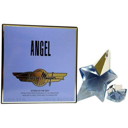 Angel Stars in the Sky by Thierry Mugler Set 0.8oz edp Spr + 5ml edp mini