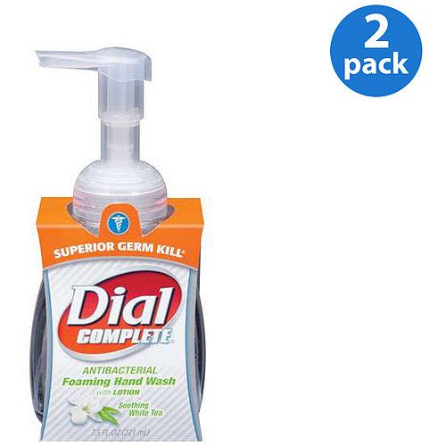 Dial Complete Foaming Hand Wash White Tea (Pack of 2)