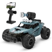 DEERC DE36 RC Cars for kids Remote Control Car with 720P HD FPV Camera 1:16 Scale Off-Road RC Truck High Speed Monster Trucks for Kids Adults All Terrain 30 Min Play RC Toys Gifts for Boys Girls