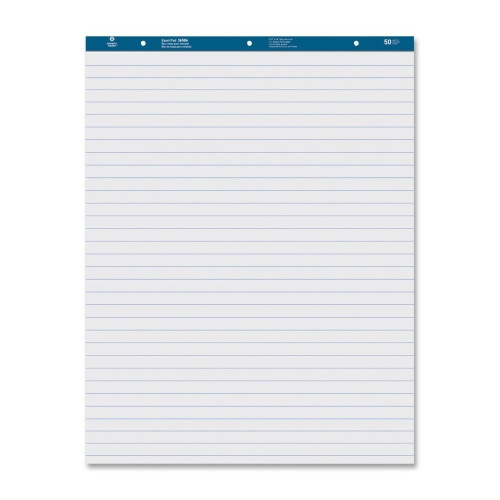 Business Source Easel Pad, Ruled, 50 Sheets, 27''x34'', 2 Count