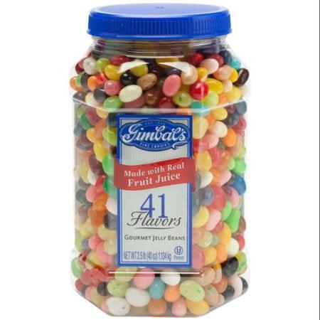 Gimbal's Gourmet Jelly Beans, 40 oz Jar