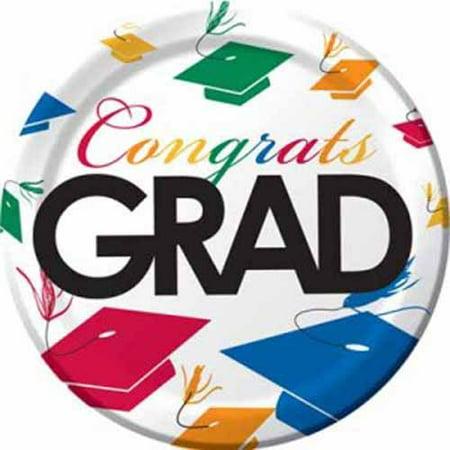 Graduation 'Graduation Toss' Small Plates (50ct)