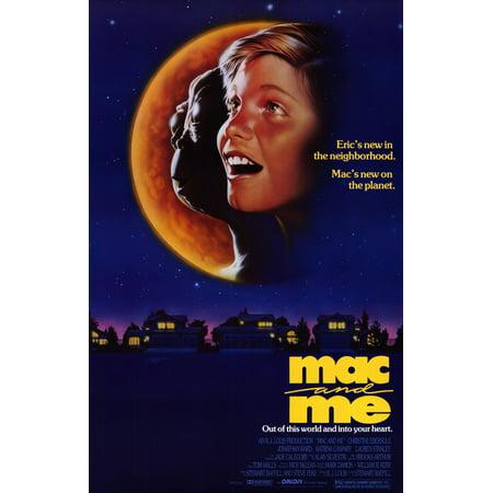 Mac and Me (1988) 11x17 Movie - Maquillaje Mac Halloween