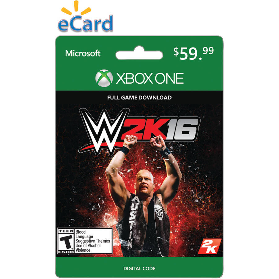 WWE 2K16 (Xbox One) (Email Delivery)