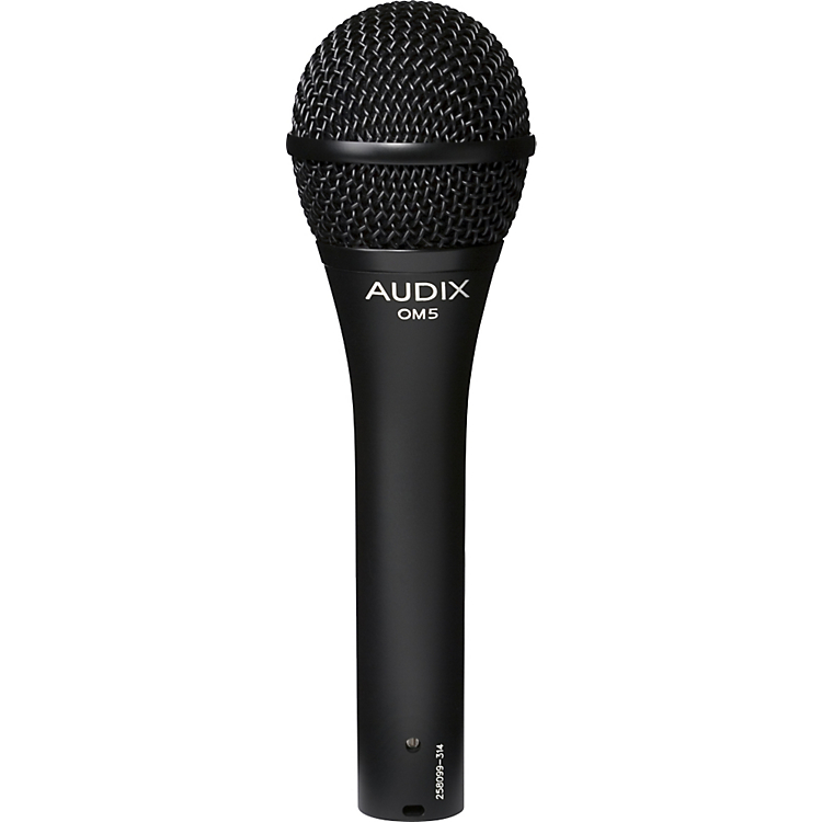 Audix OM5 Dynamic Hypercardioid Microphone by Audix
